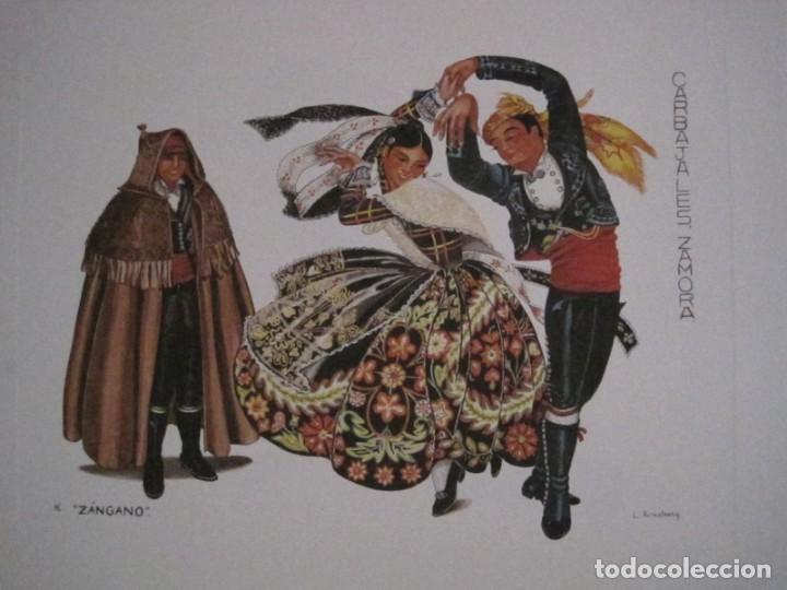 Arte: REPRODUCCIONES DE ACUARELAS LUCILE ARMSTRONG. PARADORES DE TURISMO. FOLKLORE, TRAJES REGIONALES. - Foto 17 - 278194938