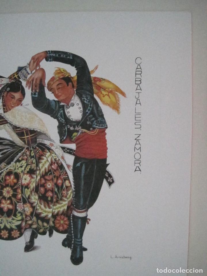 Arte: REPRODUCCIONES DE ACUARELAS LUCILE ARMSTRONG. PARADORES DE TURISMO. FOLKLORE, TRAJES REGIONALES. - Foto 18 - 278194938