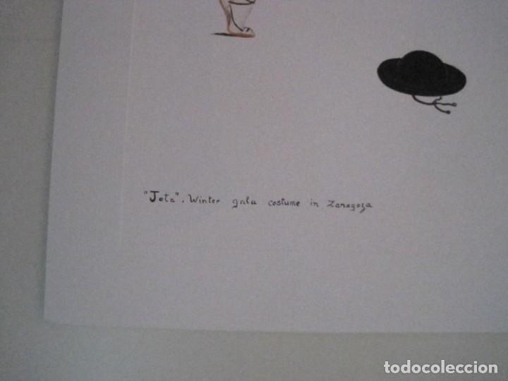 Arte: REPRODUCCIONES DE ACUARELAS LUCILE ARMSTRONG. PARADORES DE TURISMO. FOLKLORE, TRAJES REGIONALES. - Foto 20 - 278194938