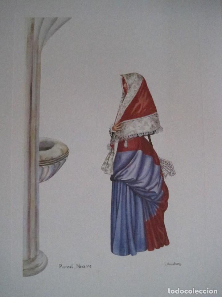 Arte: REPRODUCCIONES DE ACUARELAS LUCILE ARMSTRONG. PARADORES DE TURISMO. FOLKLORE, TRAJES REGIONALES. - Foto 21 - 278194938