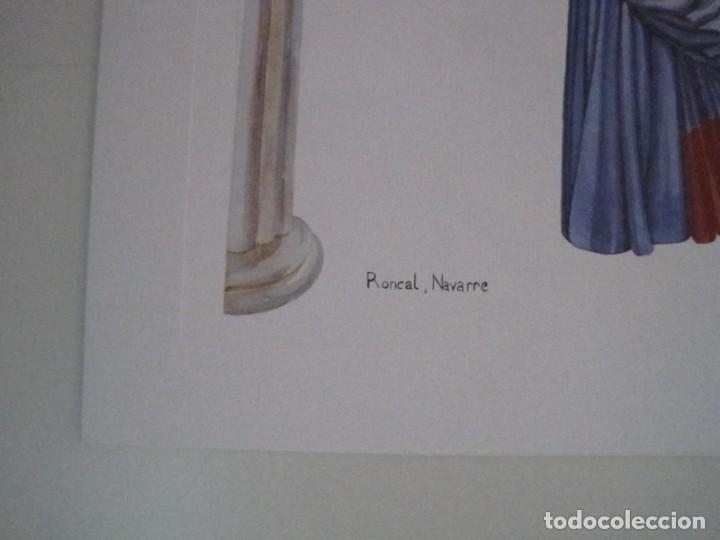 Arte: REPRODUCCIONES DE ACUARELAS LUCILE ARMSTRONG. PARADORES DE TURISMO. FOLKLORE, TRAJES REGIONALES. - Foto 22 - 278194938
