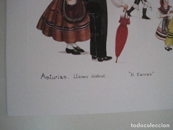 Arte: REPRODUCCIONES DE ACUARELAS LUCILE ARMSTRONG. PARADORES DE TURISMO. FOLKLORE, TRAJES REGIONALES. - Foto 26 - 278194938