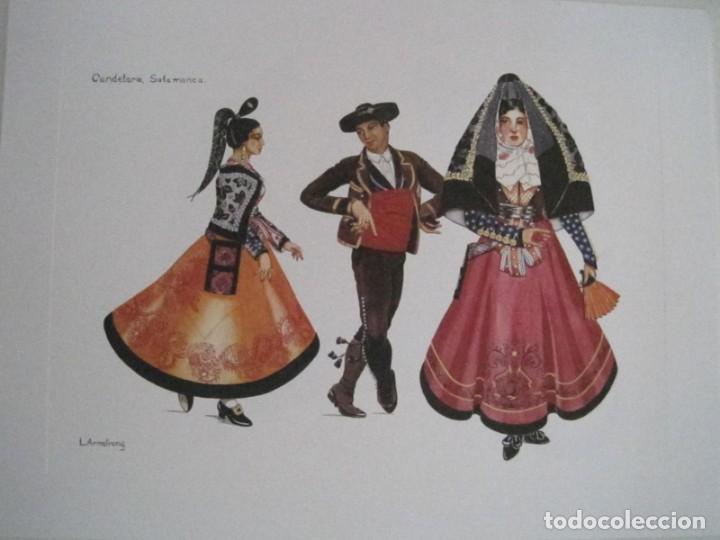 Arte: REPRODUCCIONES DE ACUARELAS LUCILE ARMSTRONG. PARADORES DE TURISMO. FOLKLORE, TRAJES REGIONALES. - Foto 29 - 278194938