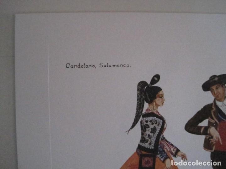 Arte: REPRODUCCIONES DE ACUARELAS LUCILE ARMSTRONG. PARADORES DE TURISMO. FOLKLORE, TRAJES REGIONALES. - Foto 30 - 278194938