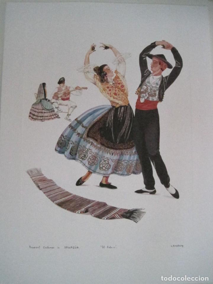 Arte: REPRODUCCIONES DE ACUARELAS LUCILE ARMSTRONG. PARADORES DE TURISMO. FOLKLORE, TRAJES REGIONALES. - Foto 31 - 278194938