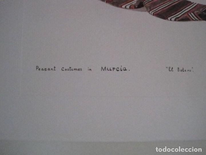 Arte: REPRODUCCIONES DE ACUARELAS LUCILE ARMSTRONG. PARADORES DE TURISMO. FOLKLORE, TRAJES REGIONALES. - Foto 32 - 278194938