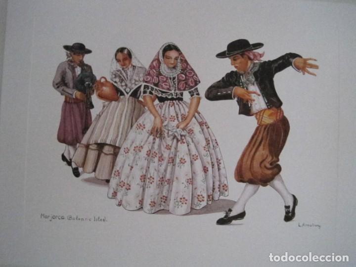 Arte: REPRODUCCIONES DE ACUARELAS LUCILE ARMSTRONG. PARADORES DE TURISMO. FOLKLORE, TRAJES REGIONALES. - Foto 37 - 278194938