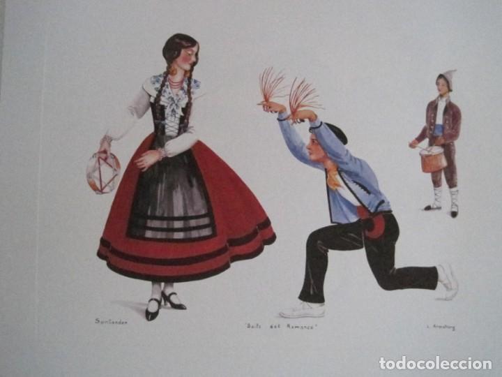 Arte: REPRODUCCIONES DE ACUARELAS LUCILE ARMSTRONG. PARADORES DE TURISMO. FOLKLORE, TRAJES REGIONALES. - Foto 39 - 278194938