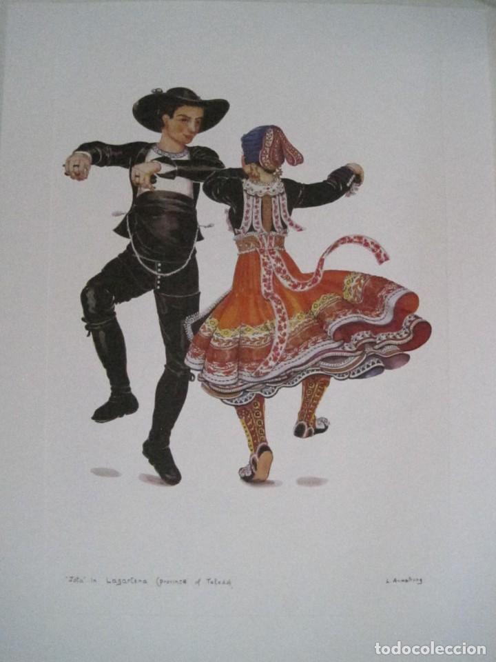 Arte: REPRODUCCIONES DE ACUARELAS LUCILE ARMSTRONG. PARADORES DE TURISMO. FOLKLORE, TRAJES REGIONALES. - Foto 41 - 278194938