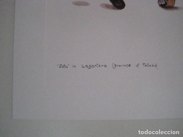 Arte: REPRODUCCIONES DE ACUARELAS LUCILE ARMSTRONG. PARADORES DE TURISMO. FOLKLORE, TRAJES REGIONALES. - Foto 42 - 278194938