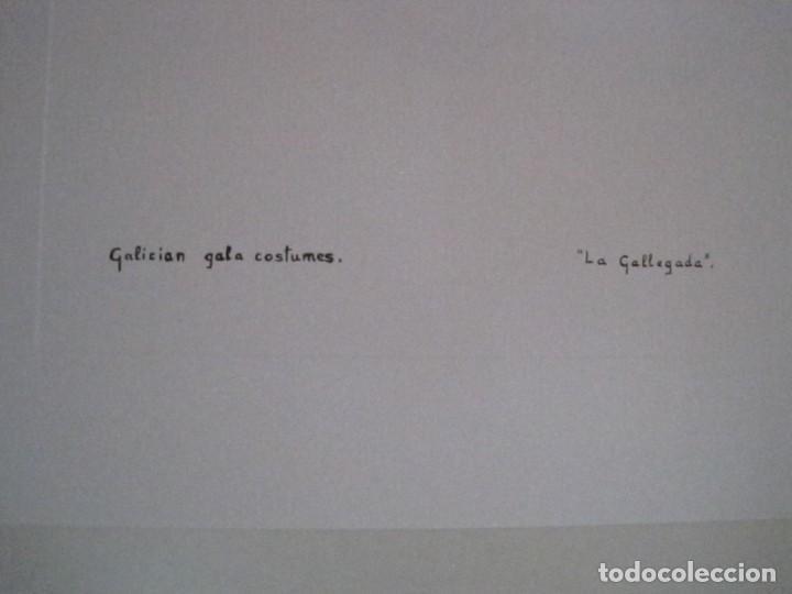 Arte: REPRODUCCIONES DE ACUARELAS LUCILE ARMSTRONG. PARADORES DE TURISMO. FOLKLORE, TRAJES REGIONALES. - Foto 46 - 278194938