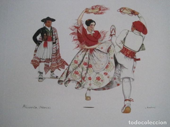 Arte: REPRODUCCIONES DE ACUARELAS LUCILE ARMSTRONG. PARADORES DE TURISMO. FOLKLORE, TRAJES REGIONALES. - Foto 47 - 278194938