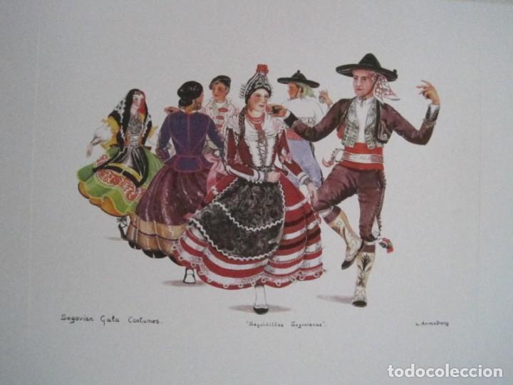 Arte: REPRODUCCIONES DE ACUARELAS LUCILE ARMSTRONG. PARADORES DE TURISMO. FOLKLORE, TRAJES REGIONALES. - Foto 49 - 278194938