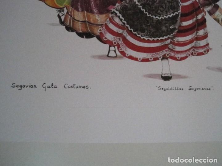 Arte: REPRODUCCIONES DE ACUARELAS LUCILE ARMSTRONG. PARADORES DE TURISMO. FOLKLORE, TRAJES REGIONALES. - Foto 50 - 278194938
