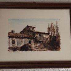 Arte: PUEBLO EXTREMEÑO. GAMBOA 1980. Lote 278449623