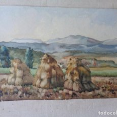 Arte: MIGUEL AGUILAR.ACUARELA.MANLLEU.MA28. Lote 278643563