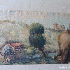 Arte: MIGUEL AGUILAR.ACUARELA.CASSERRAS.MA29. Lote 278643588