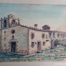 Arte: MIGUEL AGUILAR.ACUARELA. EL FAR.MA33. Lote 278668863