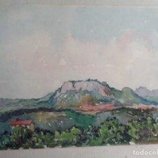 Arte: MIGUEL AGUILAR.ACUARELA. MANLLEU. MA40. Lote 279340548