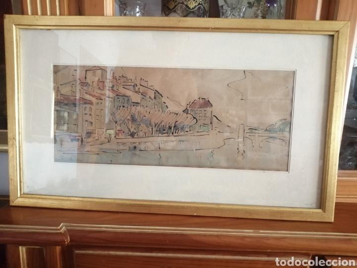Arte: Vanguardia. Escuela de París. Firmado ilegible. - Foto 2 - 282091333