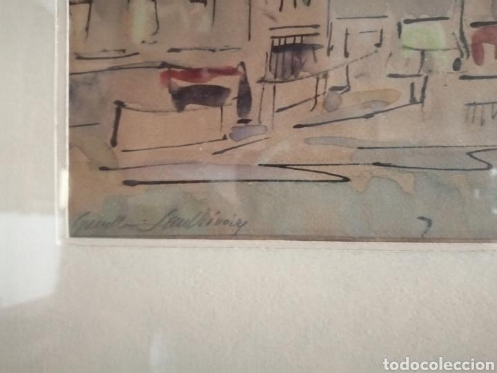 Arte: Vanguardia. Escuela de París. Firmado ilegible. - Foto 5 - 282091333