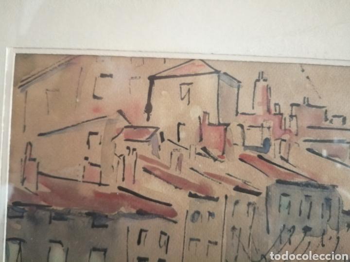 Arte: Vanguardia. Escuela de París. Firmado ilegible. - Foto 6 - 282091333