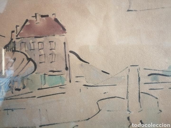 Arte: Vanguardia. Escuela de París. Firmado ilegible. - Foto 7 - 282091333