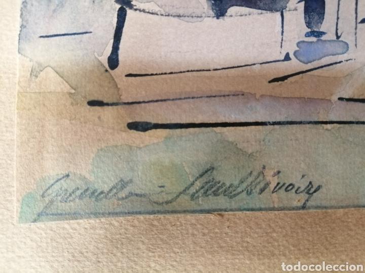 Arte: Vanguardia. Escuela de París. Firmado ilegible. - Foto 8 - 282091333