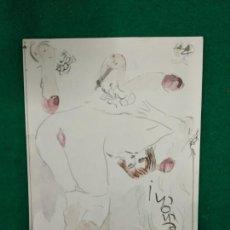 Arte: ACUARELA EROTICA DIONIS ROMEU. 24 X 16 CM.. Lote 283759423