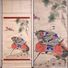 Arte: BATALLA DE KAWANAKASHIMA(1553, 1555, 1557, 1561 Y 1564), KANO TSUNENOBU(1636-1713). Lote 284815118