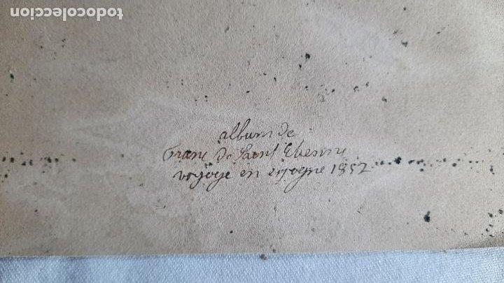 Arte: malaga 1852 original de voyage pittoresque en espagne dibujo - Foto 4 - 285197808