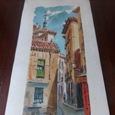 Arte: MADRID CARLOS SÁNCHEZ. Lote 286357638