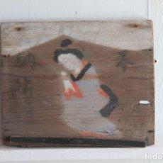 Arte: EMA, CIUDAD DE ASHIKAGA, SANTUARIO MIZUI,18×15×1CM. Lote 286535438