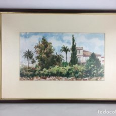 Arte: IMPRESIONANTE CUADRO PINTOR MURCIANO JOSE MARIA FALGAS RIGAS FIRMADO 25 X 44 MEDIDAS PINTURA. Lote 286993733