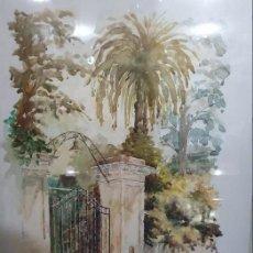 Arte: ACUARELA HUGO OSVALDO RAMOS COD 29501. Lote 289478888