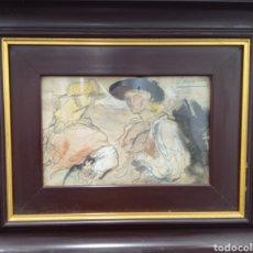 Arte: ACUARELA DEL PINTOR FRANCISCO SORIA AEDO ( GRANADA 1898-MADRID 1965). Lote 290148038