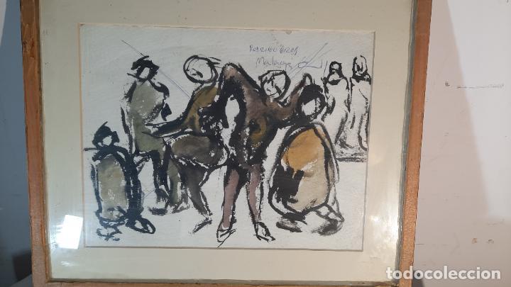 Arte: acuarela wash rodrigo gras pintado a dos caras - Foto 2 - 291402663