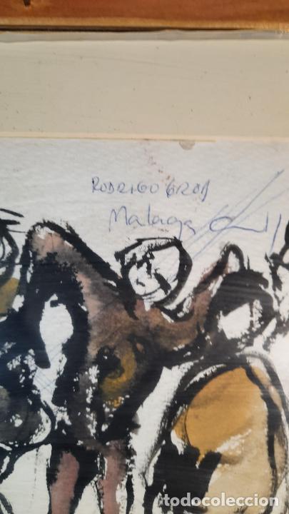 Arte: acuarela wash rodrigo gras pintado a dos caras - Foto 3 - 291402663
