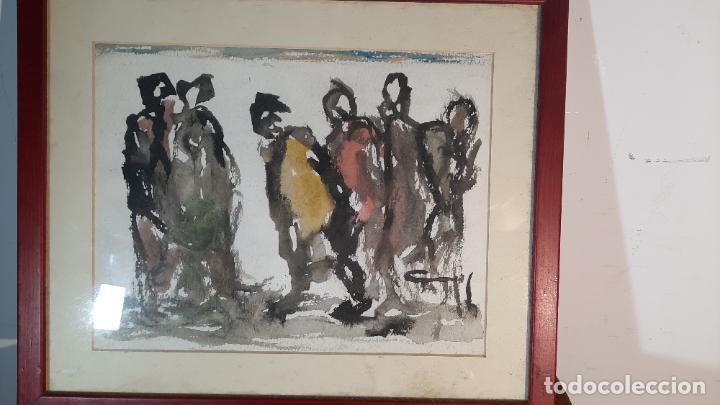Arte: acuarela wash rodrigo gras pintado a dos caras - Foto 4 - 291402663