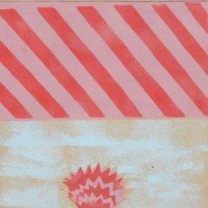 Arte: MARIA GIRONA I BENET (BARCELONA, 1923 - 2015) TECNICA MIXTA DEL AÑO 1970. COMPOSICION CON PLANTA. Lote 293768823