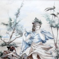 Arte: ALFREDO OPISSO CARDONA (BARCELONA, 1907- MATARÓ, BARCELONA, 1980). ACUARELA. 32 X 24 CM.. Lote 293799248