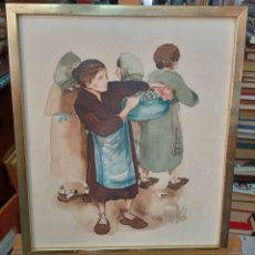Arte: AMANDO SILVESTRE - ACUARELA ( VALENCIA 1937-2010 ). Lote 294831598