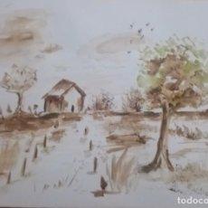 Arte: ACUARELA, PAISAJE, A. ROSA CINTAS. Lote 295843248