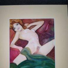 Arte: DESNUDO FEMENINO SIGLO XX FIRMADO. Lote 295993758