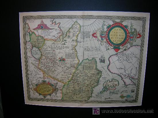 CARTOGRAFIA. MAPA ANTIGUO. JAPÓN - CHINA - COREA (Arte - Cartografía Antigua (hasta S. XIX))