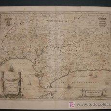 Arte: ANDALUZIA CONTINENS. SEVILLAM ET CORDUBAM. ANDALUCÍA. SEVILLA Y CORDOBA. S. XVII. . Lote 12484912
