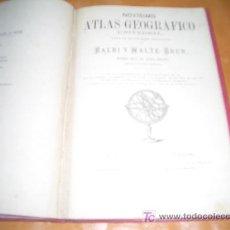 Arte: NOVISIMO ATLAS GEOGRAFICO UNIVERSAL-BALBI Y MALTE- BRUN-1879 1º EDICION. Lote 7878061