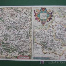 Arte: MONASTERIENSIS ET OSNABURGENSIS EPISCOPATUS DESCRIPTIO. FRANCIAE ORIENTALIS. 1590. 60 X 47 CM.. Lote 12498143