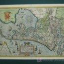 Arte: HOLLANDIAE ANTIQUORUM CATTHORUM SEDIS NOVA DESCRIPTIO, IACOBO A DAVENTRIA. ORTELIUS. 60 X 47 CM. . Lote 25434248