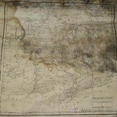 Arte: AÑO 1763. MAPA DE LAS CERCANIAS DE MADRID POR THOMAS LOPEZ, PENSIONISTA DE S.M. ENTELADO. Lote 26897044